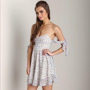 For Love & Lemons Kiss Me Floral Dress